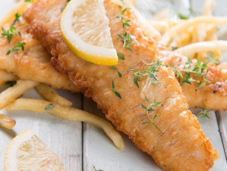 Favorite Recipes: Fish & Chips, Tucci Style
