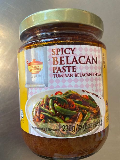 Tean's Spicy Belacan Paste 230g 田师傅香辣虾膏
