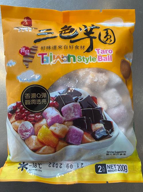 Taiwan Style Taro Ball 香源三色芋圆