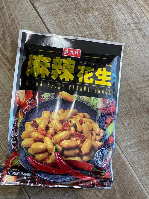 Ultra Spicy Peanut Snack