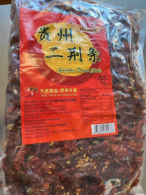 Honor Guizhou Dried Chilli 康乐贵州二荆条1kg