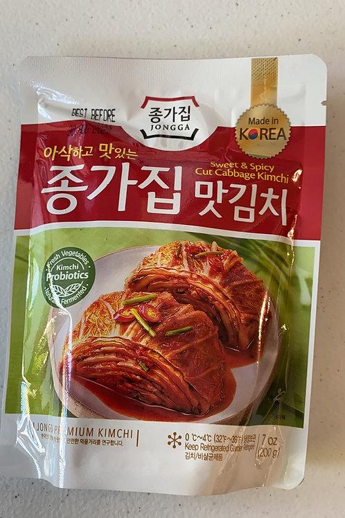 Chongga Mat Kimchi (Cut Cabbage Kimchi) 200g