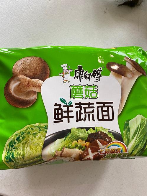 KSF Vegetable Instant Noodle Mushroom Flav 5pcs