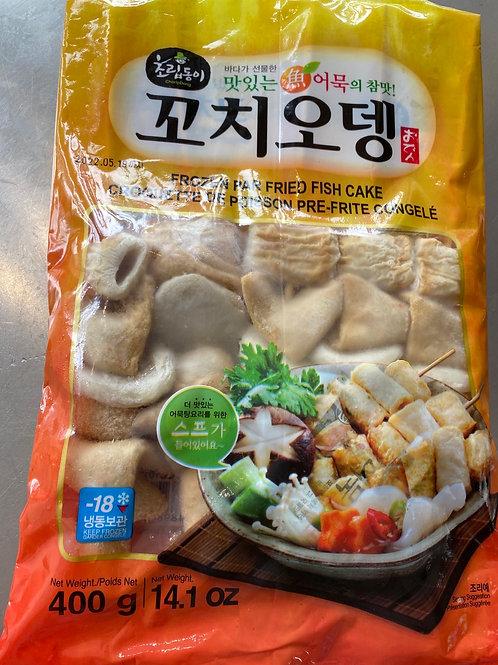 Korean Frozen Par Fried Fish Cake On Skewer 400g