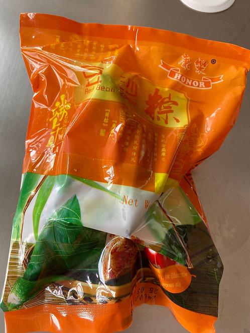 HR Zongzi Glutinous Rice With Red Bean 豆沙粽子 2pcsx150g