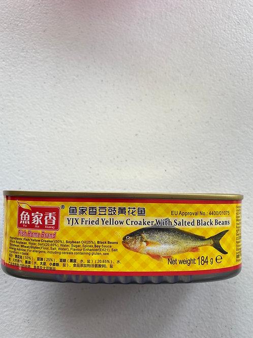 YJX Yellow Croaker With Salted Black Beans 魚家香豆豉黃花魚