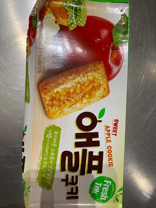 Lotte Apple Cookie 乐天苹果曲奇
