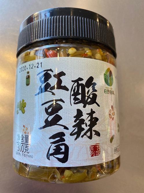 TYGS Sour & Spicy Crowpea 田野故事酸辣虹豆角300g