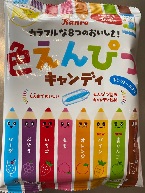 Kanro Colour Pencil Candy 80g