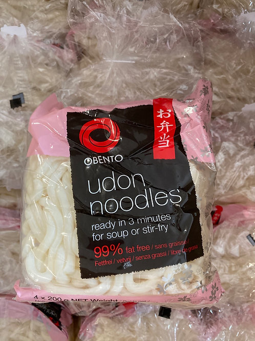 Obento Udon Noodle 4pcsx200g