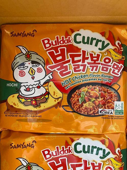 Samyang Hot Chicken Flavor Ramen Curry