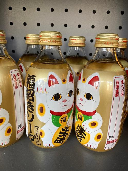 Japanese Lucky Cat Honey Soda