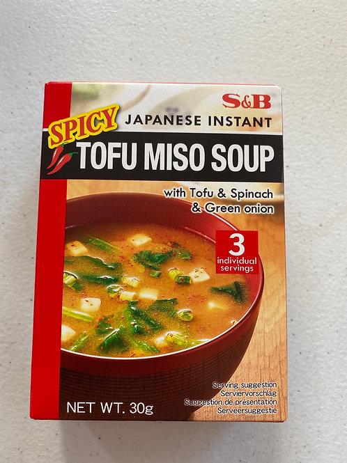 S&B Spicy Tofu Miso Soup