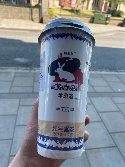 White Rabbit Black Tea Milk Flav 奶白兔元气黑茶牛乳