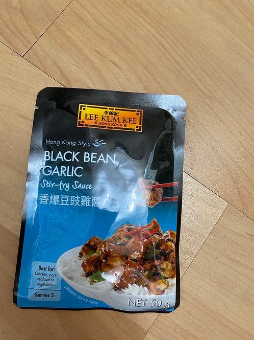 LKK Black Bean Garlic Stir-Fry Sauce 香爆豆豉鸡酱