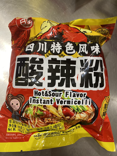 BJ Hot & Sour Vermicelli 白家酸辣粉