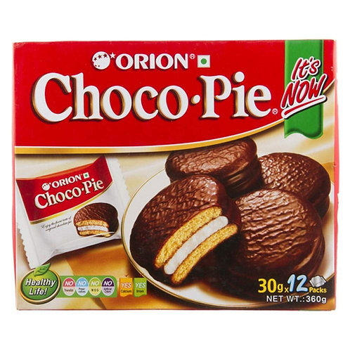 Orion Choco Pie 好力友派 30gx12pcs