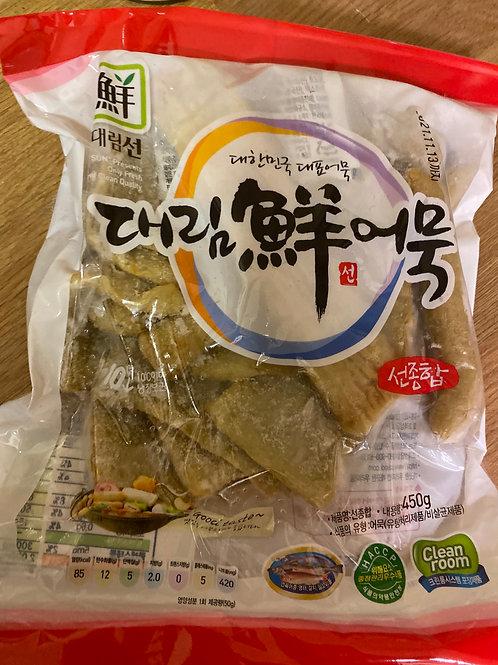 Korean Sajo Frozen Fried Fish Cake Assorted 450g