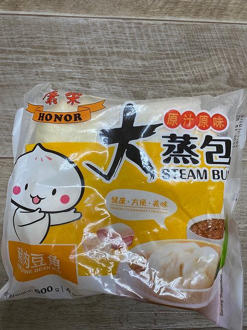 Honor pork and fine bean buns