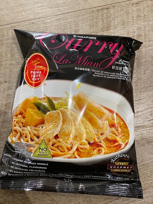 Singapore Curry Mian