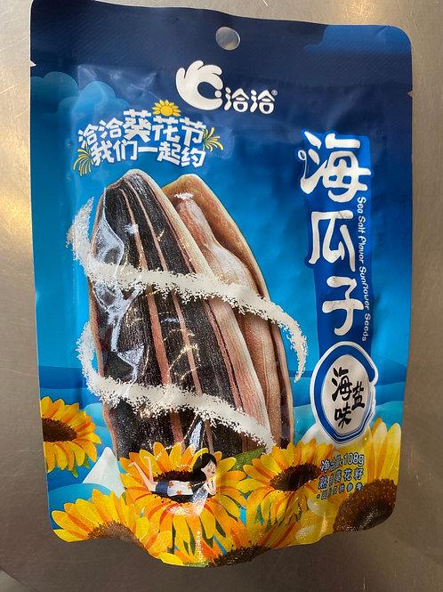 CC Sunflower Seed Sea Salt 恰恰海鹽瓜子 108g