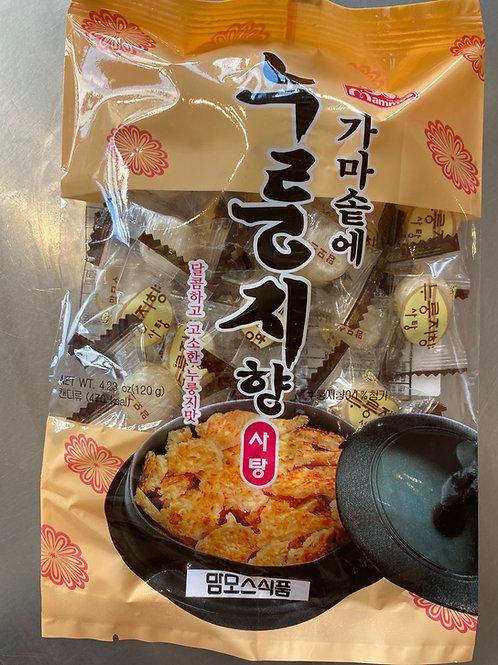 Korean Roasted Rice Candy 韩国锅巴糖120g