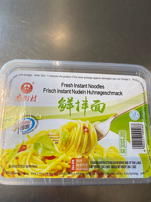 NJC Fresh Instant Mixed Noodle Chicken Flav 南街村鲜拌面鸡丝风味