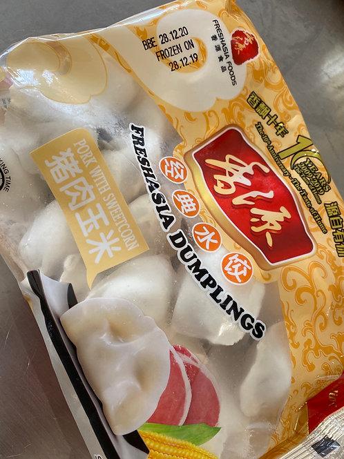 Fresasia Dumplings Pork With Sweetcorn