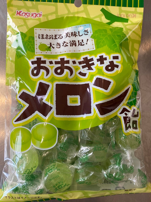 Kasugai Okina Melon Ame Big Melon Candy 126g
