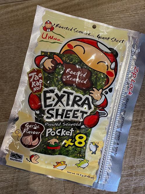 Taokaenoi Garlic Flav Big Sheet