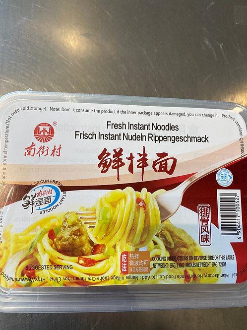NJC Fresh Instant Noodle Pork Ribs Flav 南街村鲜拌面排骨风味