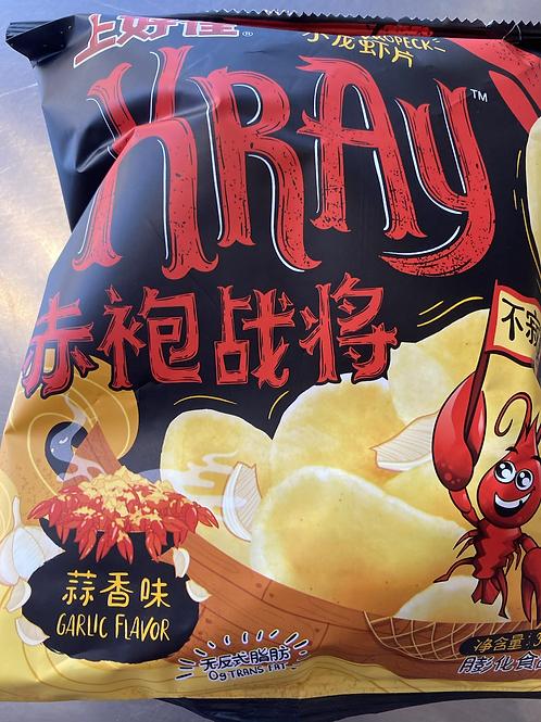 OS Kray Crayfish Crackers Garlic Flav上好佳小龙虾蒜香味