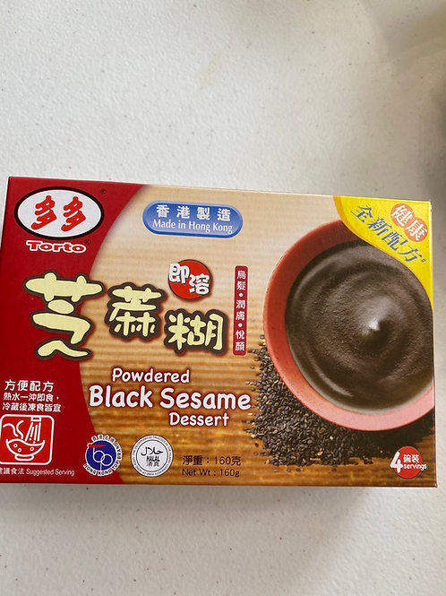 Torto Powdered Black Sesame Dessert 多多芝麻糊