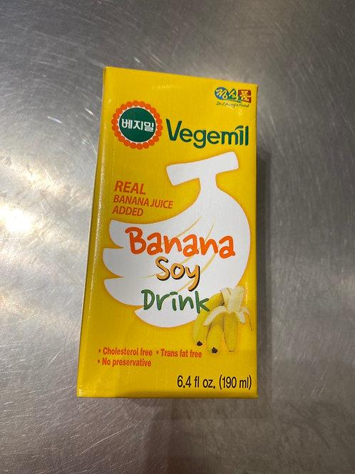 Vegmil Banana Soy Drink 190ml 香蕉豆奶