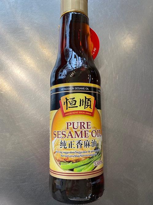 HS Sesame Oil 恒顺纯正芝麻油 330ml