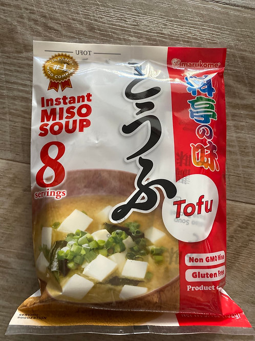 Instant Miso Soup With Tofu (8 servings)