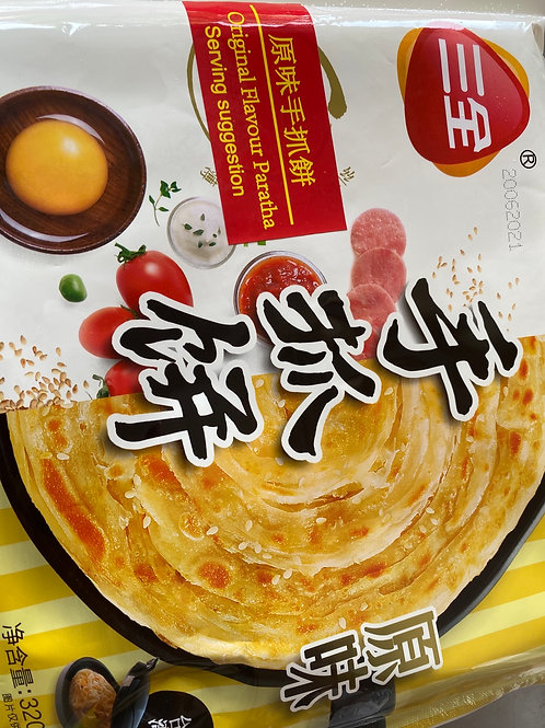 SQ Original Flav Paratha 三全原味手抓饼