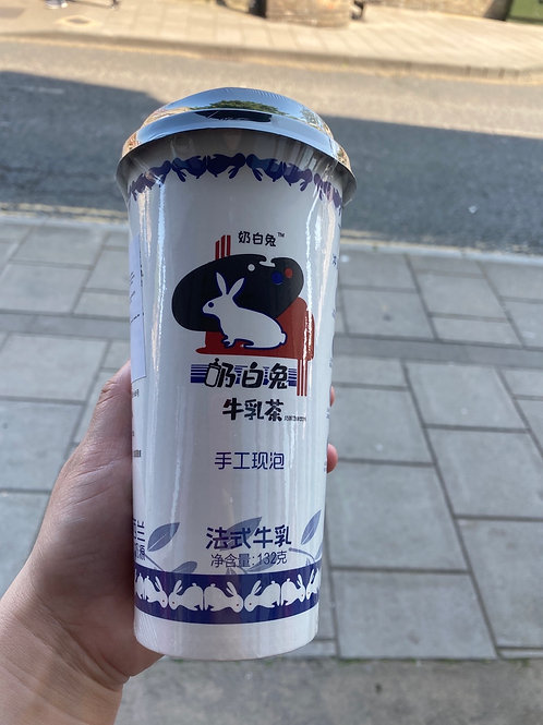White Rabbit Red Bean Flav Milk Tea奶白兔红豆牛乳茶