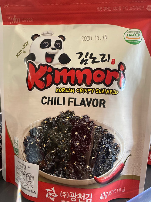 Kimnori Korean Crispy sSeaweed Chilli Flav