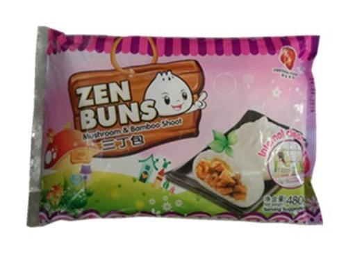 Vegetarian Zen Buns Mushroom & Bamboo shoots 三丁包