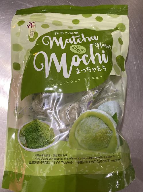 LL Mochi Matcha Tea Flav 120g 花之恋语抹茶小麻薯