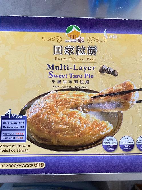 Sweet Taro Pie
