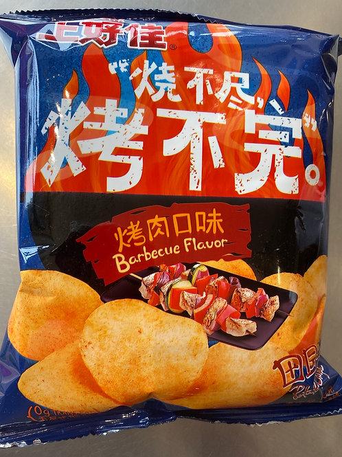 OS Potato Chips BBQ Flav 上好佳薯片烤肉味