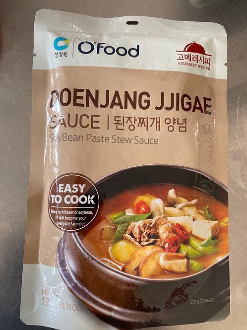 O'Food Doenjang Jjigae Soy Bean Paste Stew Sauce