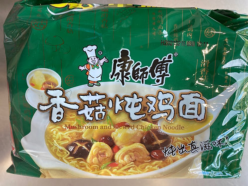 KSF Mushroom And Stewed Chicken Noodle 5pks康师傅香菇炖鸡面