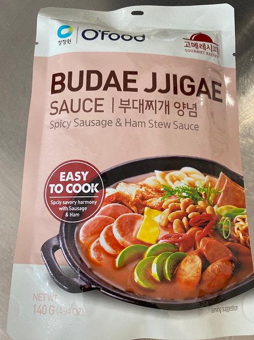 O'Food Budae Jjigae Sauce Spicy Sausage & Ham Stew Sauce