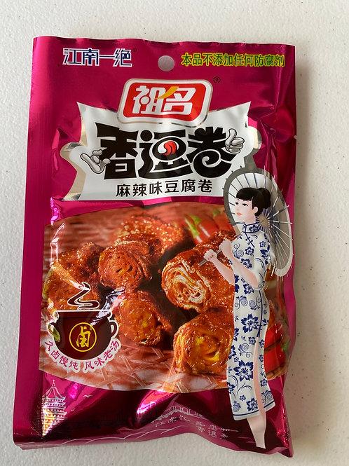 ZM Spicy Bean Curd Roll 祖名麻辣味香逗卷