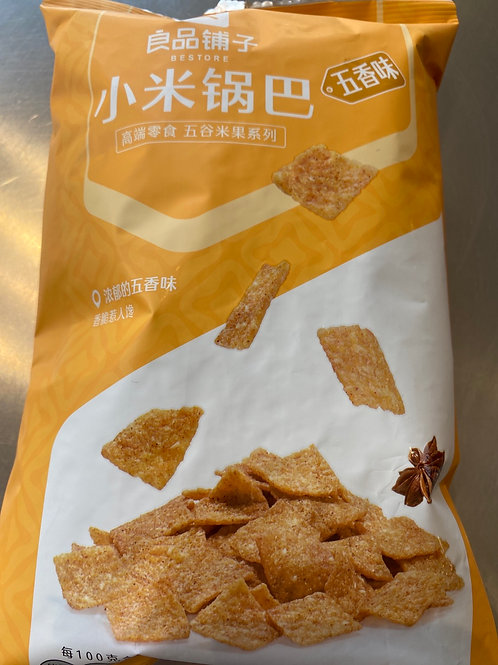 BS Millet Crisp Five Spices 良品铺子小米锅巴五香味