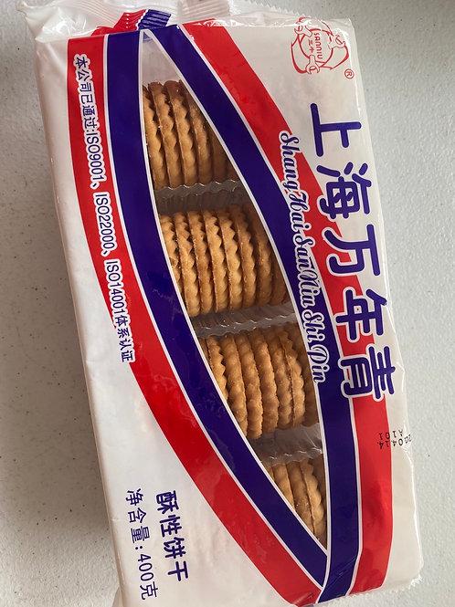 Shanghai Crisp Type Biscuit上海万年青酥饼
