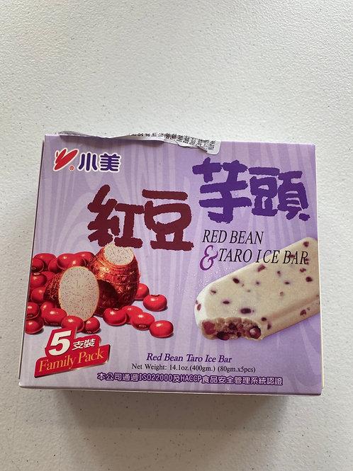 IM Red Bean & Taro Ice Bar 义美红豆芋头冰棒